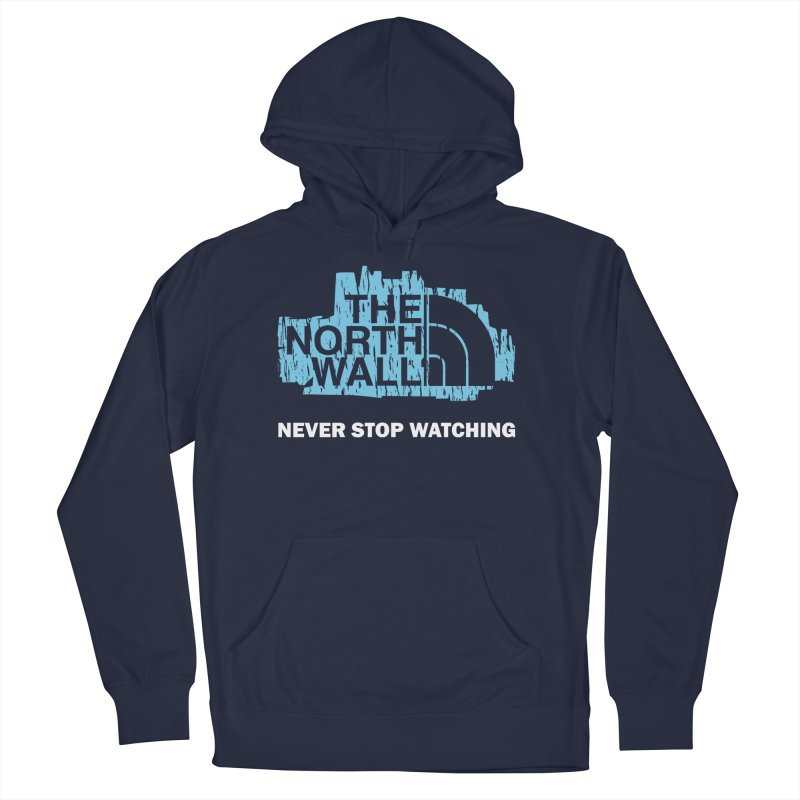 The North Wall Women's French Terry Pullover Hoody by Olipop Art & Design Shop
