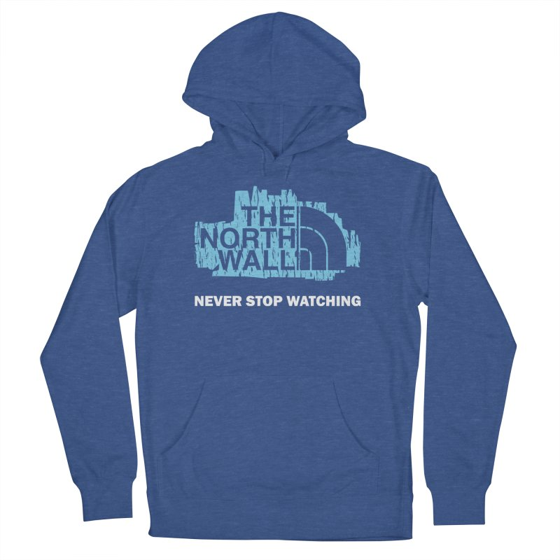 The North Wall Men's Pullover Hoody by Olipop Art & Design Shop