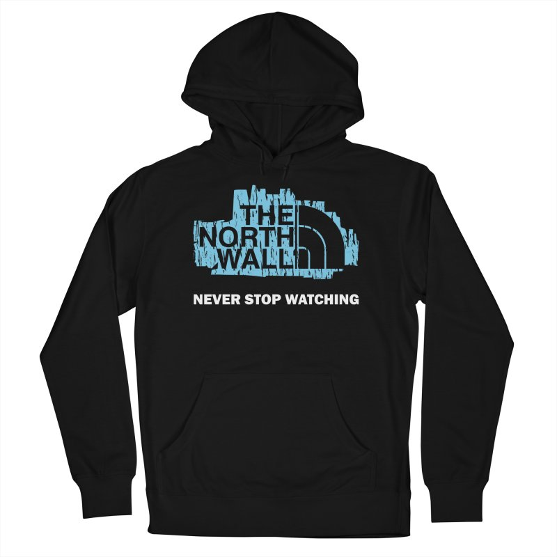 The North Wall Men's French Terry Pullover Hoody by Olipop Art & Design Shop