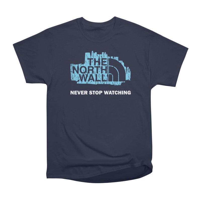 The North Wall Women's Heavyweight Unisex T-Shirt by Olipop Art & Design Shop