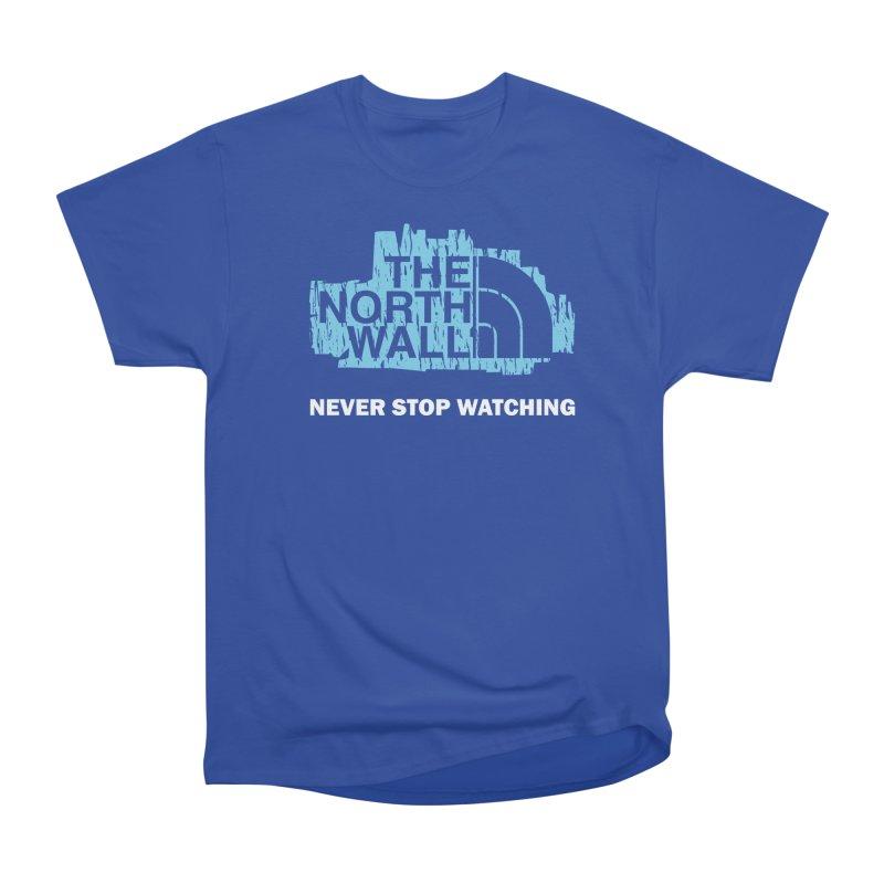 The North Wall Men's Heavyweight T-Shirt by Olipop Art & Design Shop