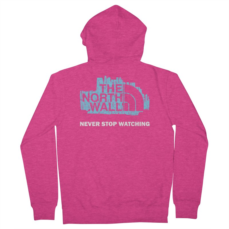 The North Wall Women's French Terry Zip-Up Hoody by Olipop Art & Design Shop