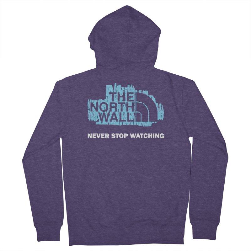 The North Wall Men's Zip-Up Hoody by Olipop Art & Design Shop