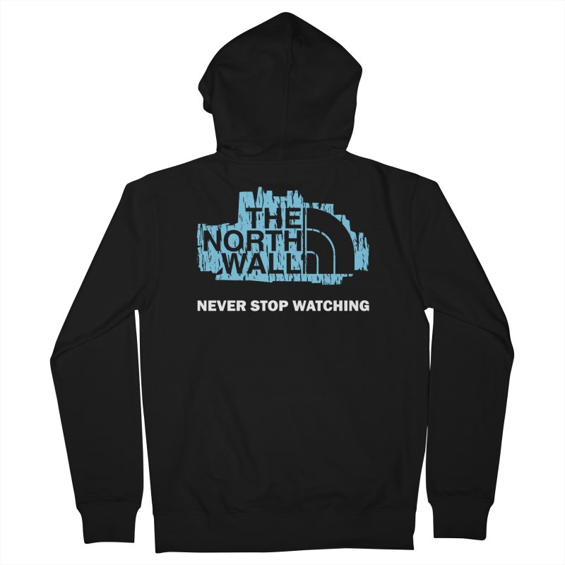 The North Wall Men's French Terry Zip-Up Hoody by Olipop Art & Design Shop