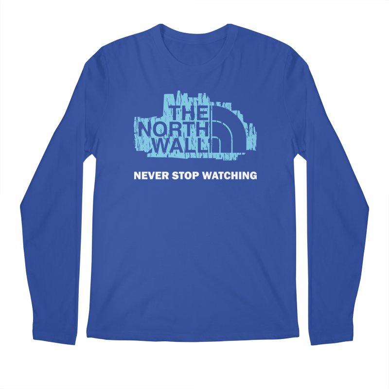 The North Wall Men's Regular Longsleeve T-Shirt by Olipop Art & Design Shop