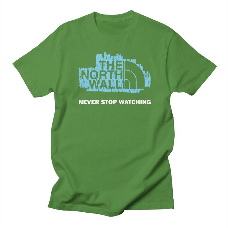 The North Wall Women's Regular Unisex T-Shirt by Olipop Art & Design Shop