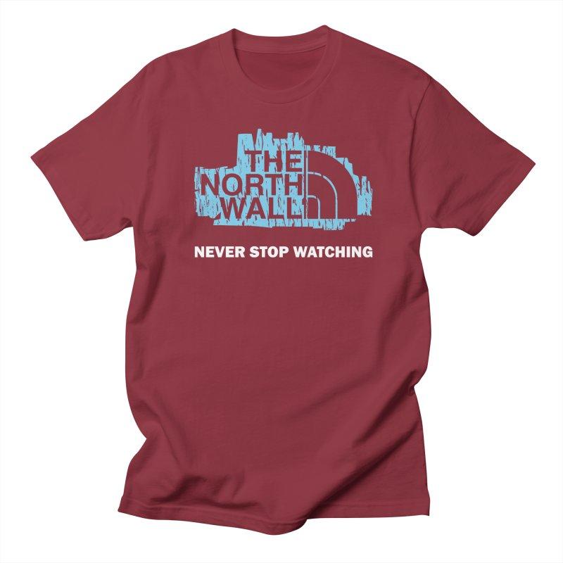 The North Wall Men's Regular T-Shirt by Olipop Art & Design Shop
