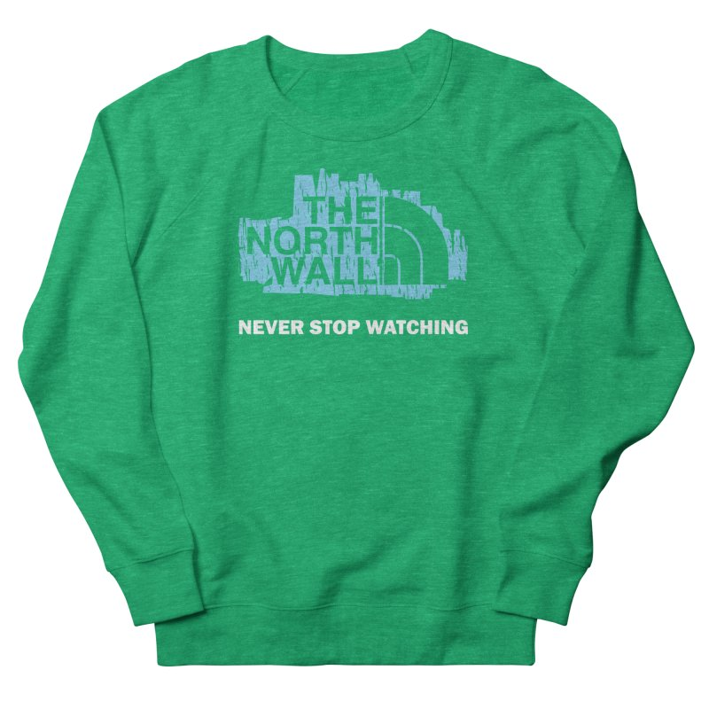 The North Wall Women's French Terry Sweatshirt by Olipop Art & Design Shop