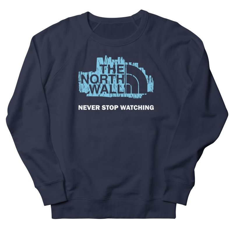 The North Wall Men's French Terry Sweatshirt by Olipop Art & Design Shop