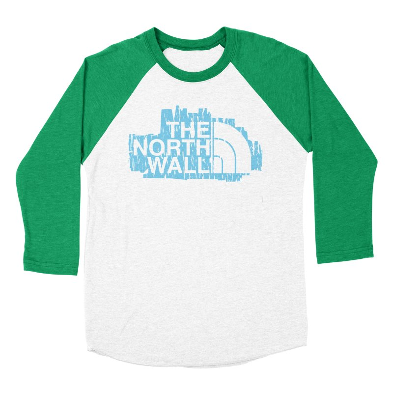 The North Wall Women's Baseball Triblend Longsleeve T-Shirt by Olipop Art & Design Shop