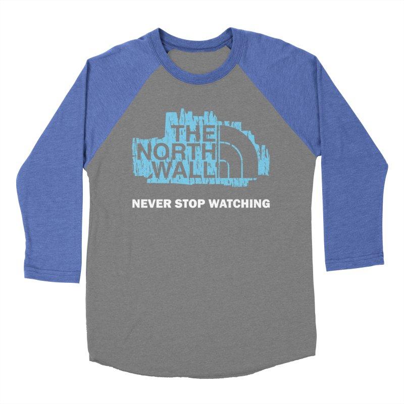 The North Wall Men's Baseball Triblend Longsleeve T-Shirt by Olipop Art & Design Shop