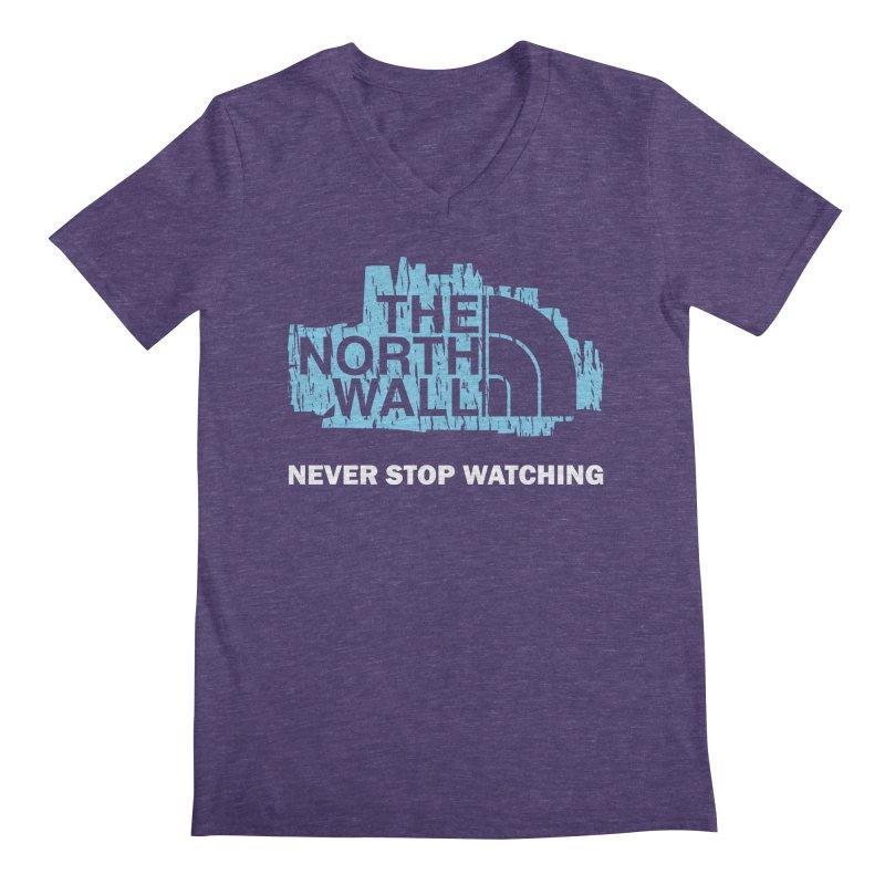 The North Wall Men's Regular V-Neck by Olipop Art & Design Shop