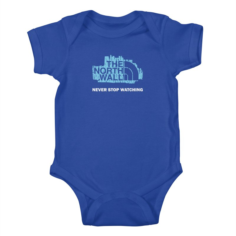 The North Wall Kids Baby Bodysuit by Olipop Art & Design Shop