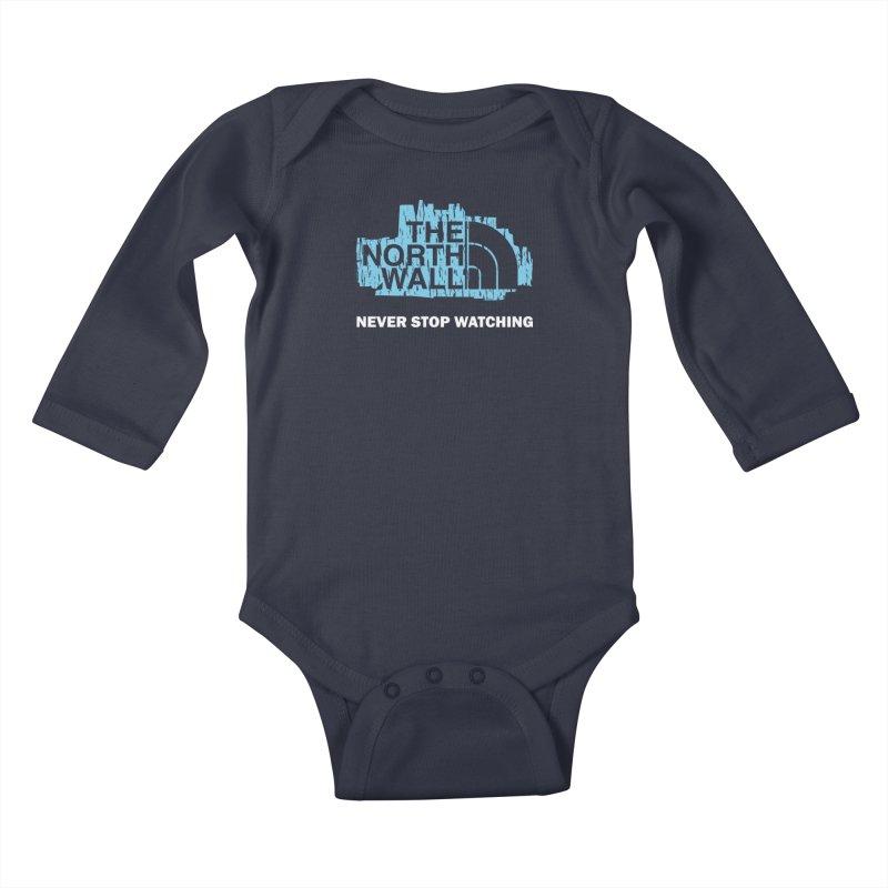 The North Wall Kids Baby Longsleeve Bodysuit by Olipop Art & Design Shop