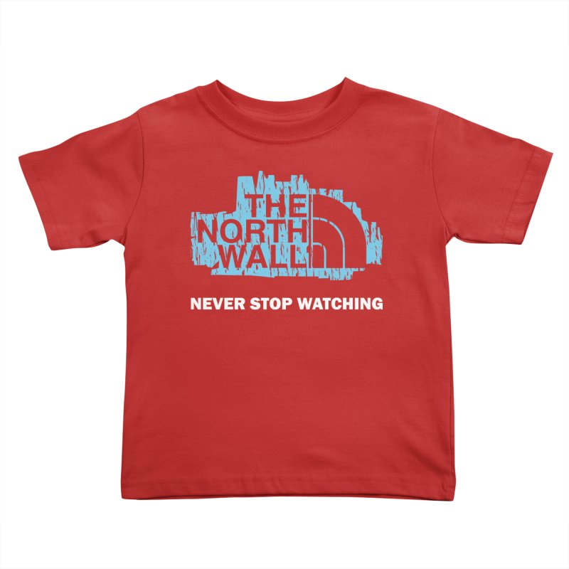 The North Wall Kids Toddler T-Shirt by Olipop Art & Design Shop
