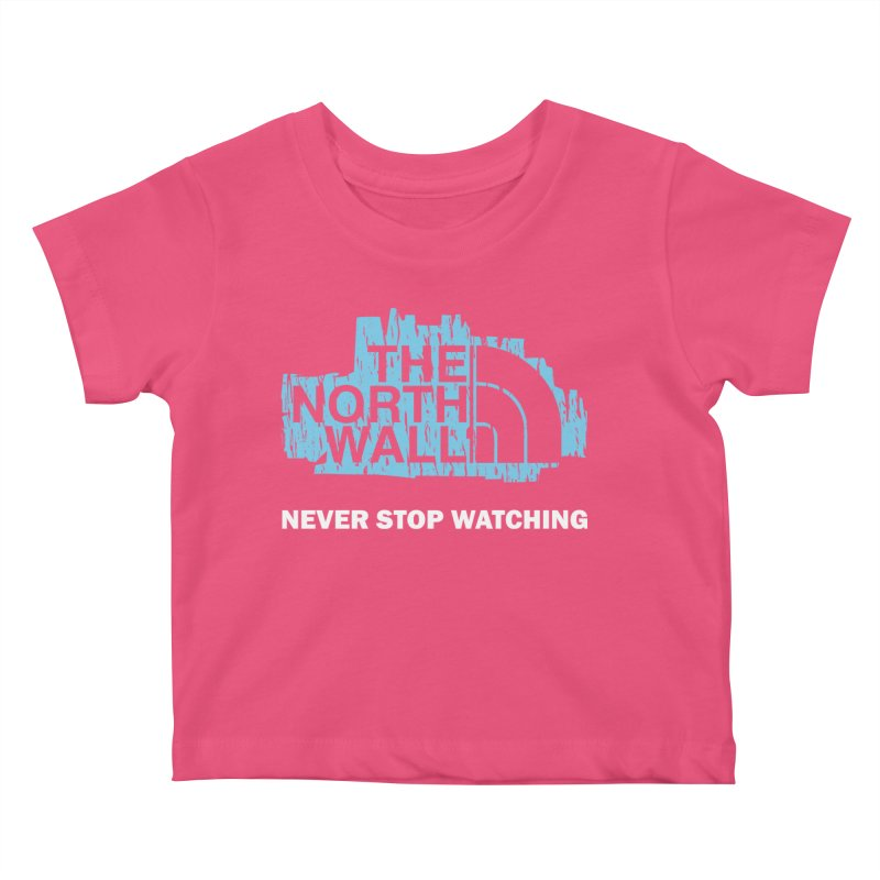 The North Wall Kids Baby T-Shirt by Olipop Art & Design Shop