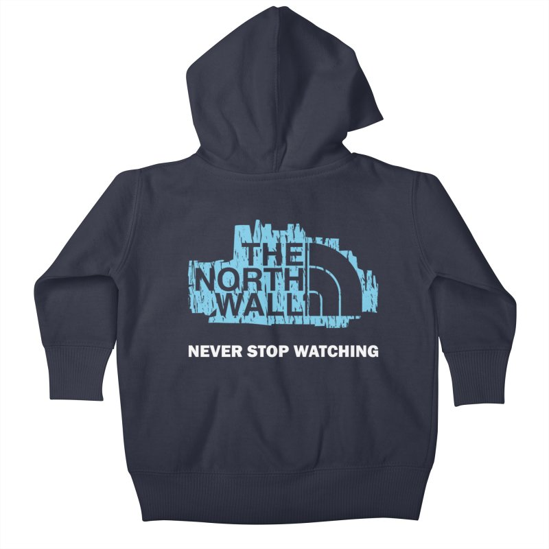The North Wall Kids Baby Zip-Up Hoody by Olipop Art & Design Shop