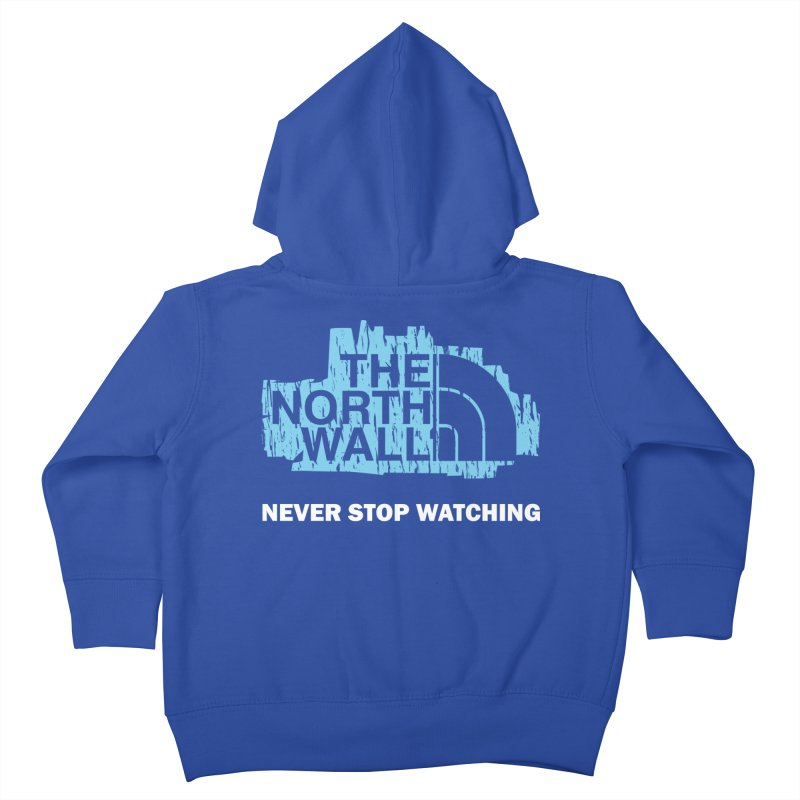 The North Wall Kids Toddler Zip-Up Hoody by Olipop Art & Design Shop