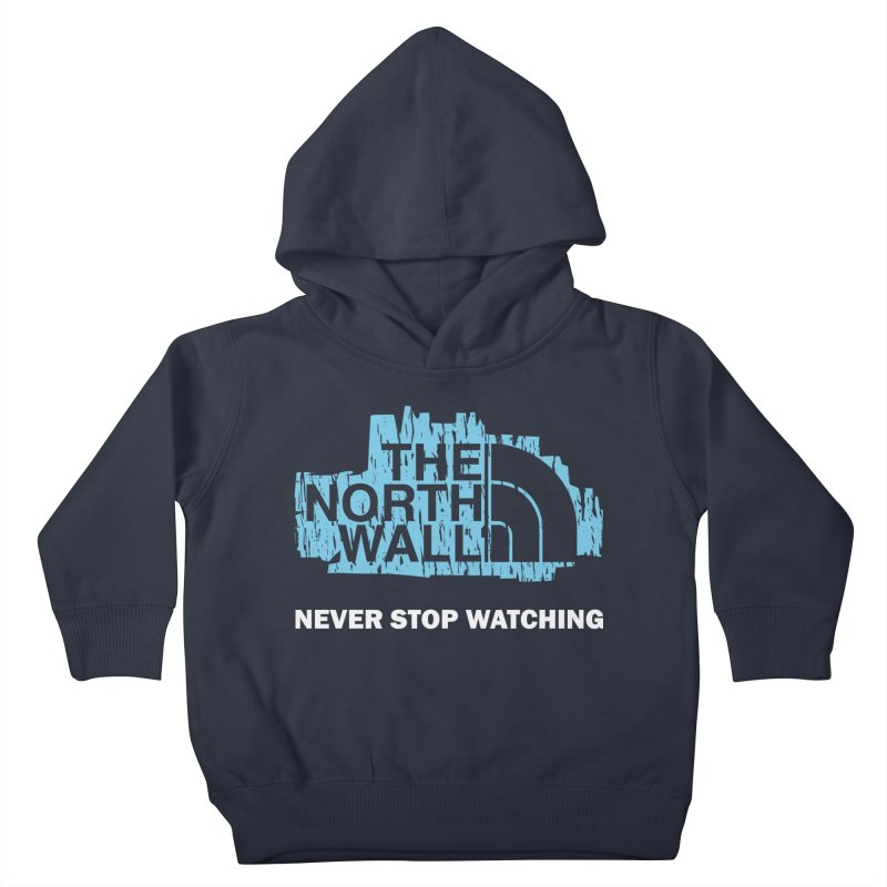 The North Wall Kids Toddler Pullover Hoody by Olipop Art & Design Shop