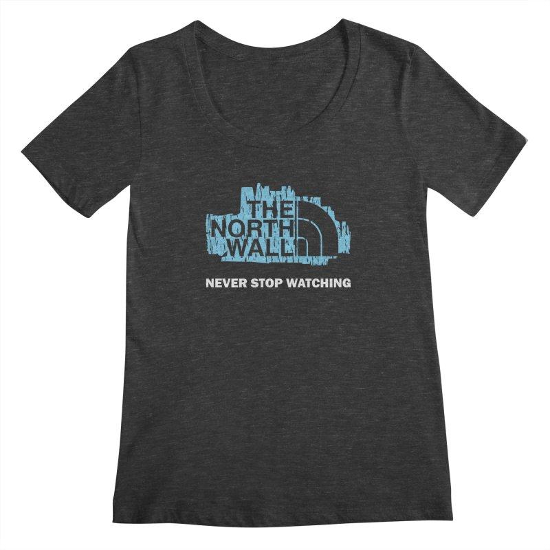 The North Wall Women's Scoopneck by Olipop Art & Design Shop