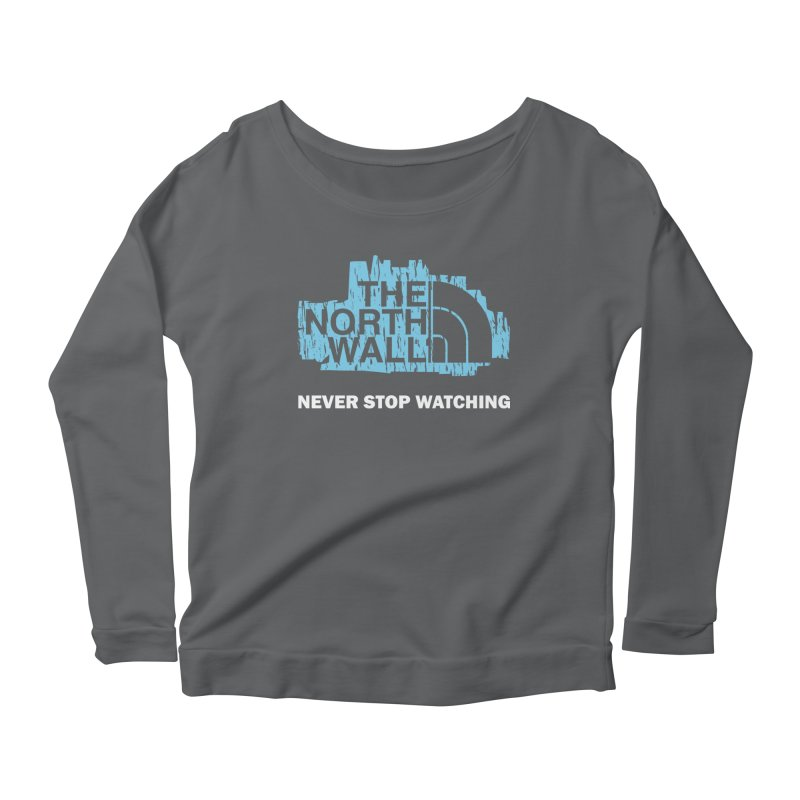The North Wall Women's Scoop Neck Longsleeve T-Shirt by Olipop Art & Design Shop