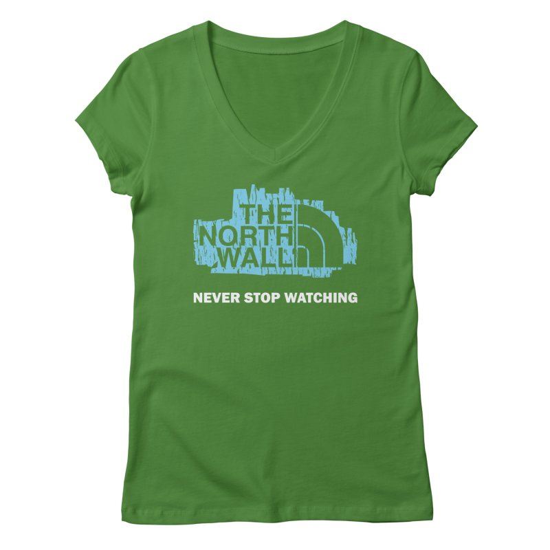 The North Wall Women's Regular V-Neck by Olipop Art & Design Shop
