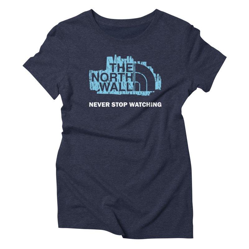 The North Wall Women's Triblend T-Shirt by Olipop Art & Design Shop