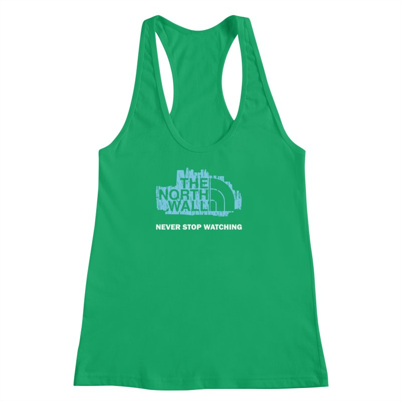 The North Wall Women's Racerback Tank by Olipop Art & Design Shop