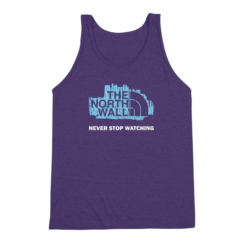 The North Wall Men's Triblend Tank by Olipop Art & Design Shop