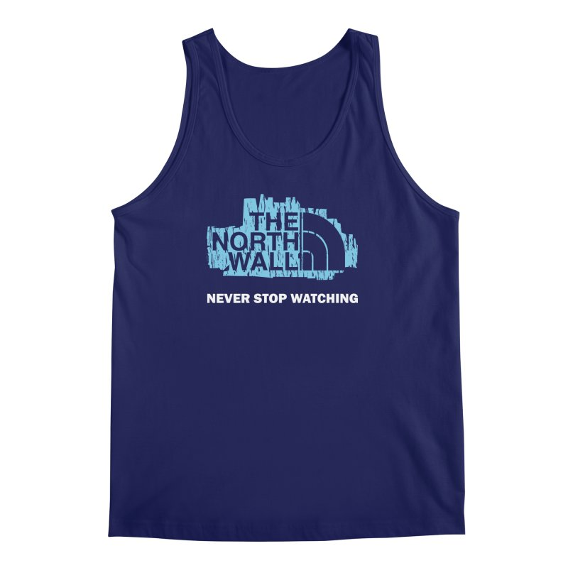 The North Wall Men's Regular Tank by Olipop Art & Design Shop