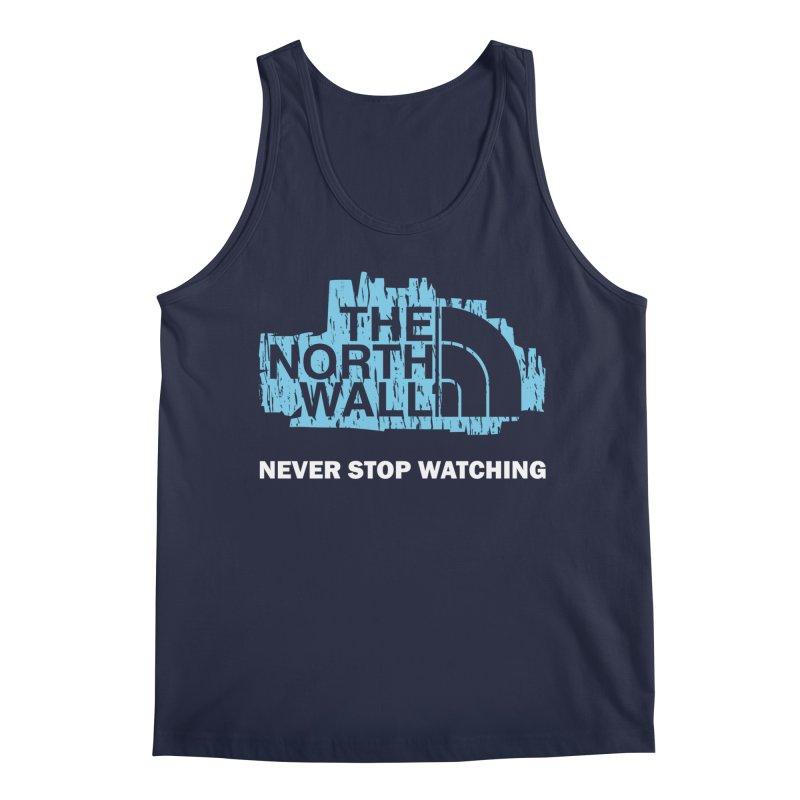 The North Wall Men's Regular Tank by Olipop Art & Design Shop