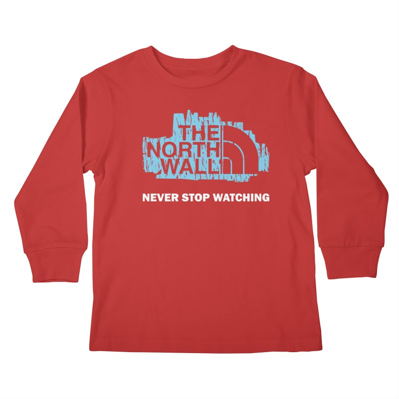 The North Wall Kids Longsleeve T-Shirt by Olipop Art & Design Shop