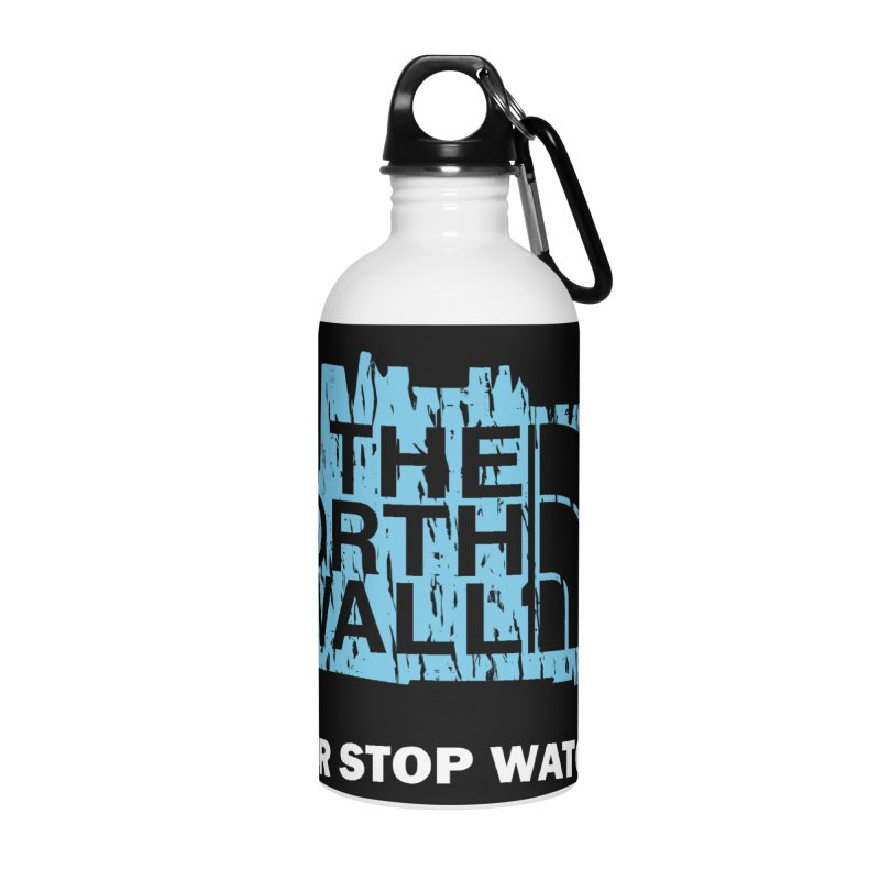 The North Wall Accessories Water Bottle by Olipop Art & Design Shop
