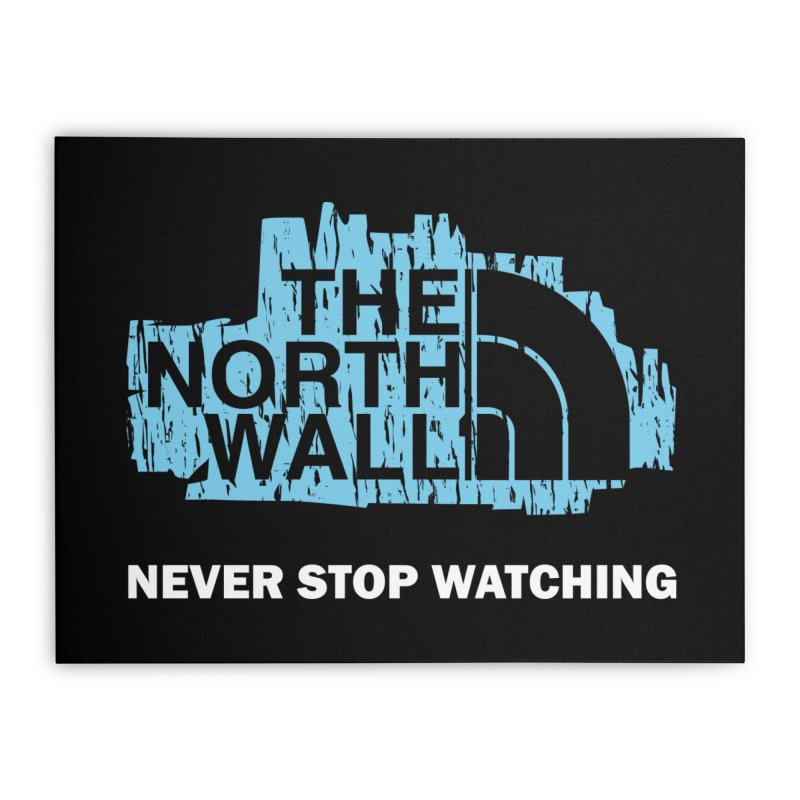 The North Wall Home Stretched Canvas by Olipop Art & Design Shop