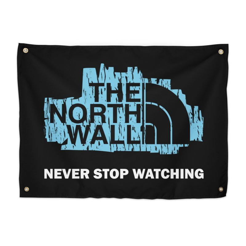 The North Wall Home Tapestry by Olipop Art & Design Shop