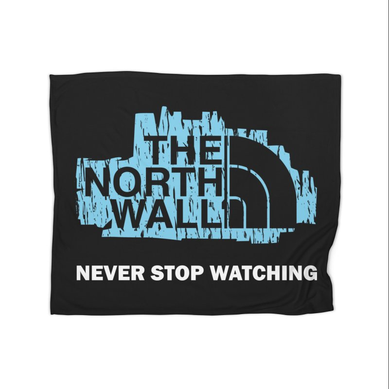 The North Wall Home Blanket by Olipop Art & Design Shop