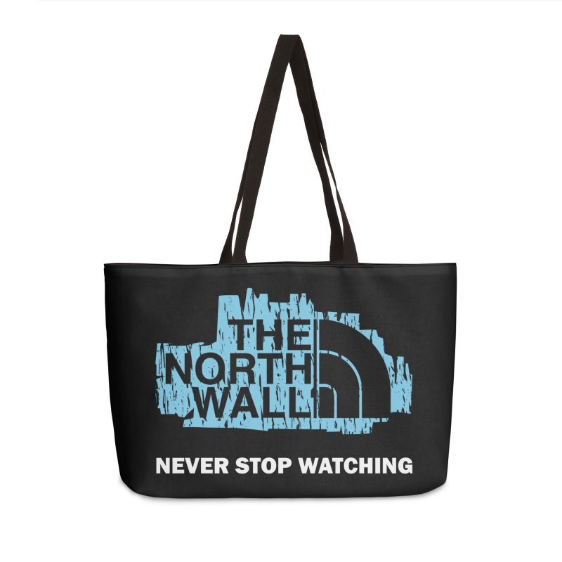 The North Wall Accessories Weekender Bag Bag by Olipop Art & Design Shop