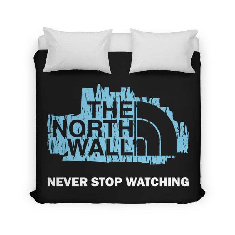 The North Wall Home Duvet by Olipop Art & Design Shop