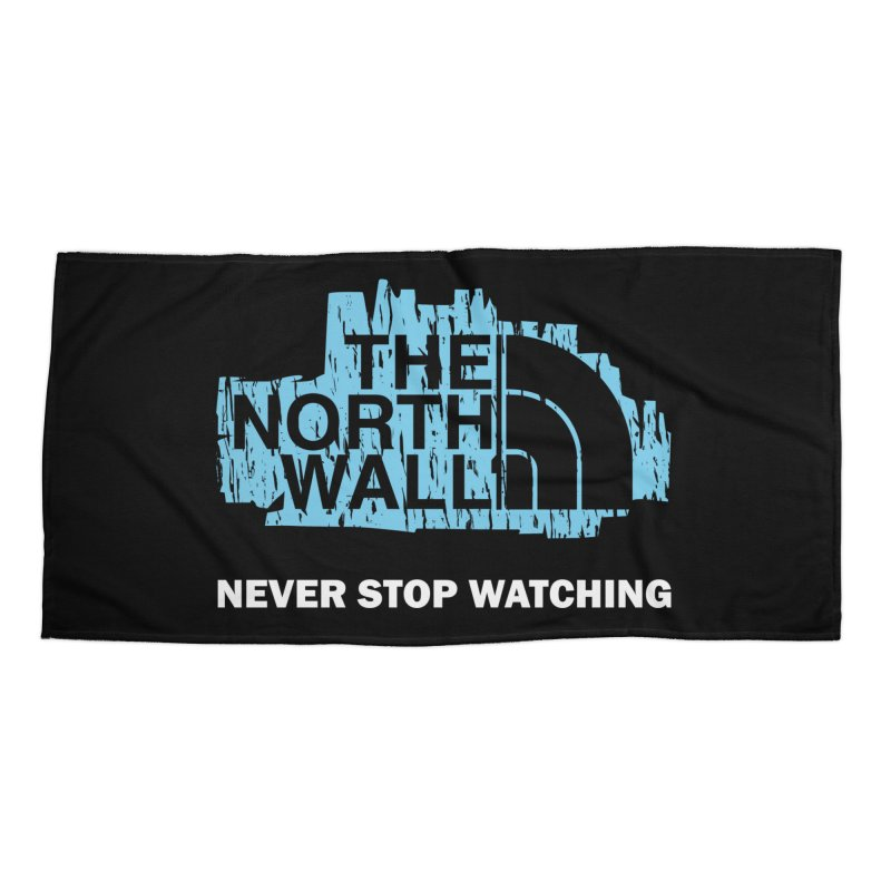 The North Wall Accessories Beach Towel by Olipop Art & Design Shop