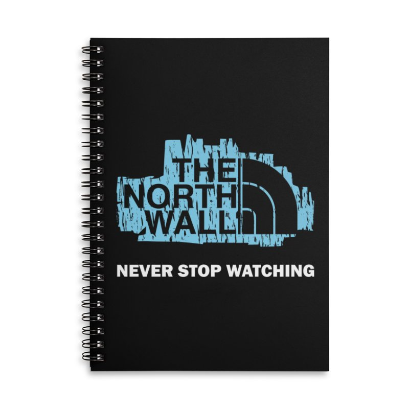 The North Wall Accessories Lined Spiral Notebook by Olipop Art & Design Shop