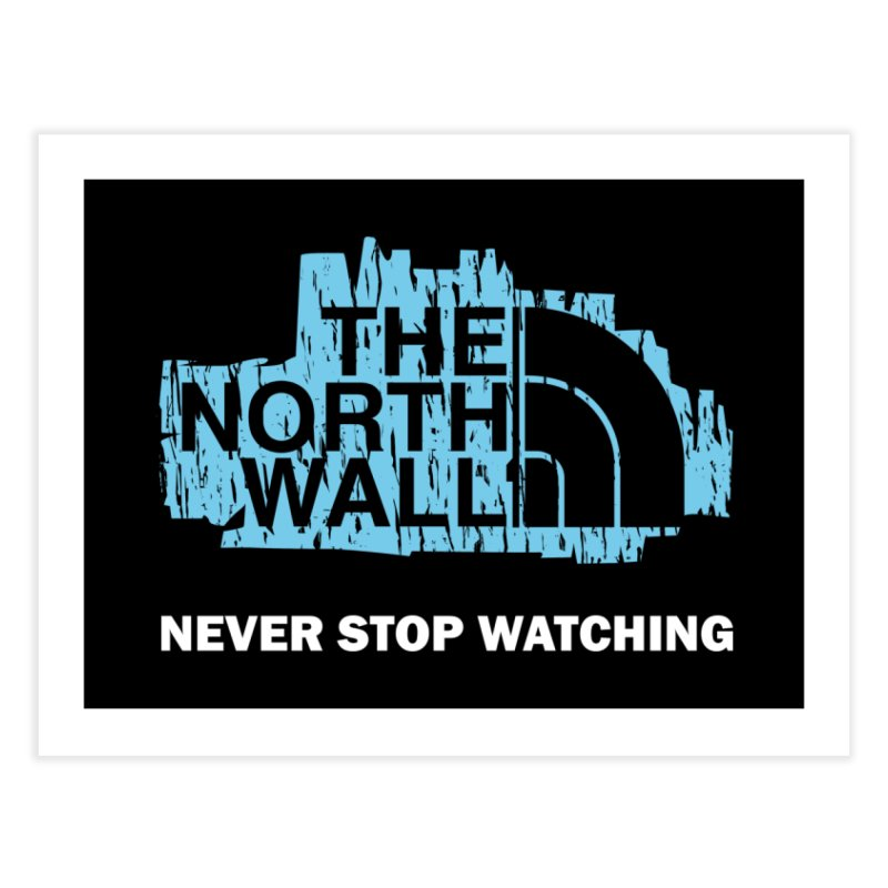 The North Wall Home Fine Art Print by Olipop Art & Design Shop
