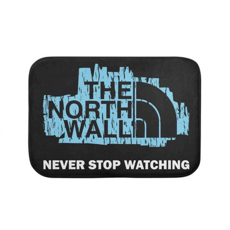 The North Wall Home Bath Mat by Olipop Art & Design Shop