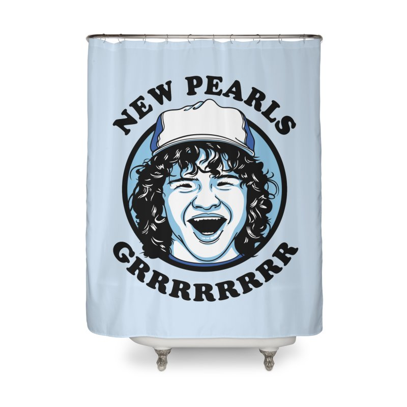New Pearls Home Shower Curtain by Olipop Art & Design Shop