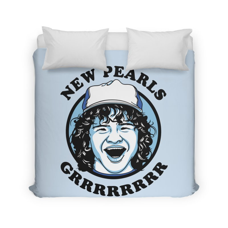 New Pearls Home Duvet by Olipop Art & Design Shop