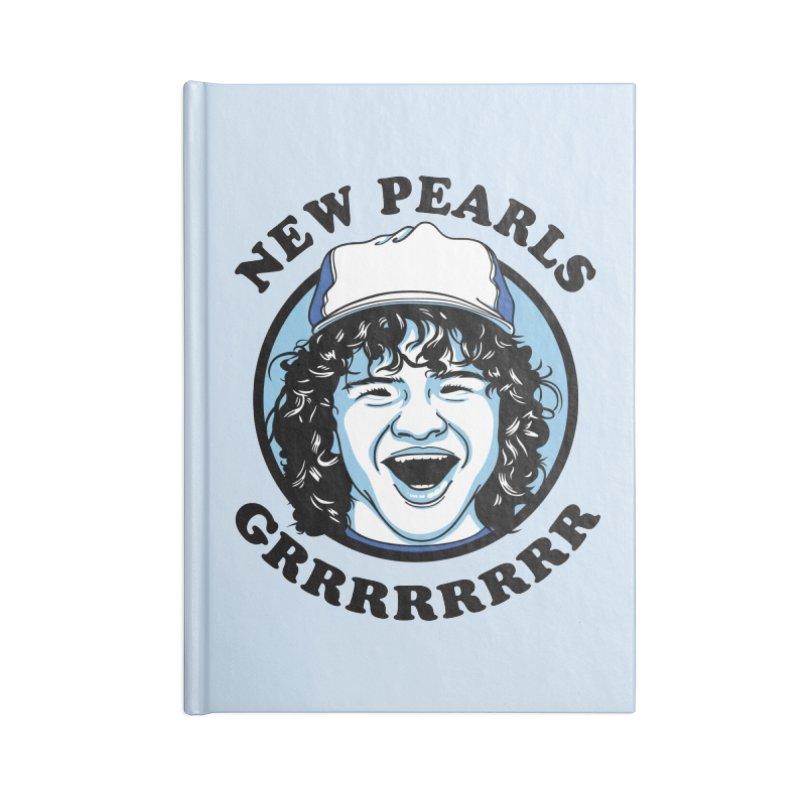 New Pearls Accessories Blank Journal Notebook by Olipop Art & Design Shop