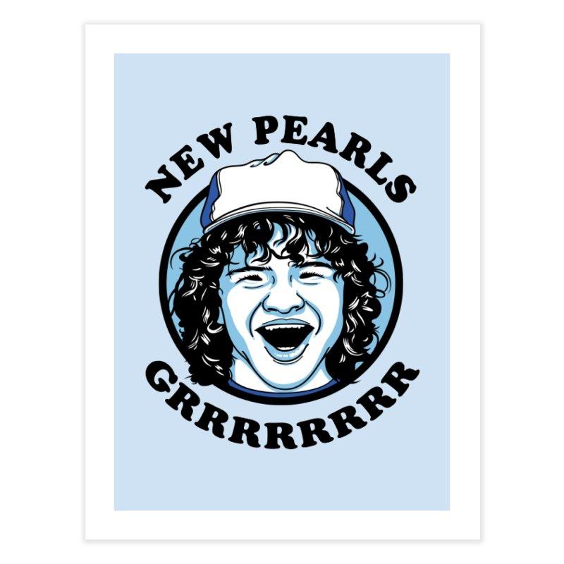 New Pearls Home Fine Art Print by Olipop Art & Design Shop