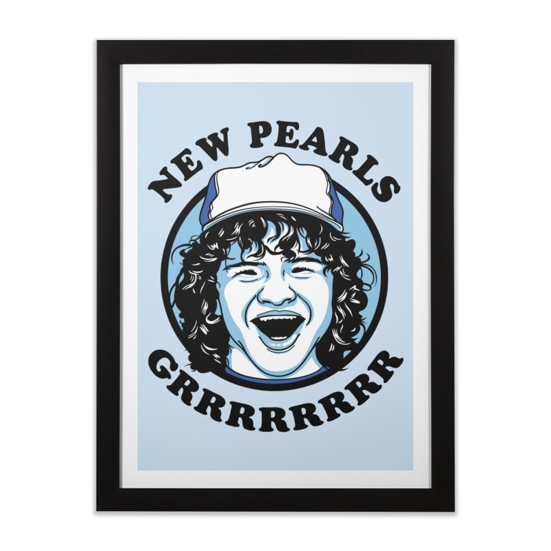 New Pearls Home Framed Fine Art Print by Olipop Art & Design Shop