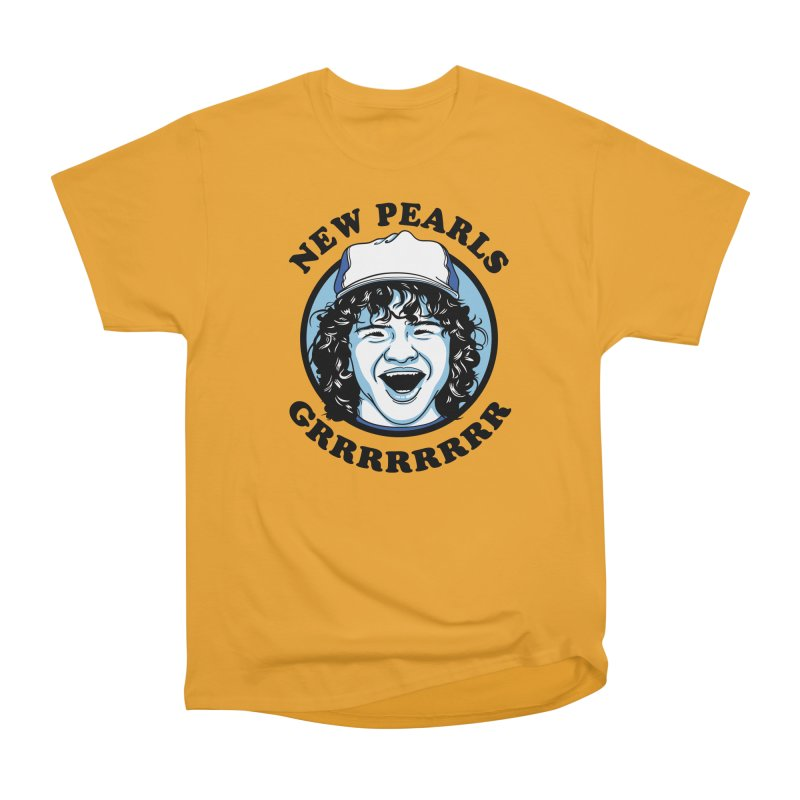 New Pearls Men's Heavyweight T-Shirt by Olipop Art & Design Shop