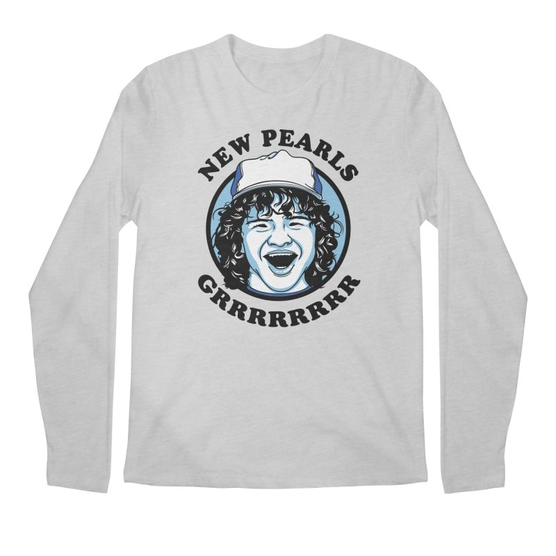 New Pearls Men's Regular Longsleeve T-Shirt by Olipop Art & Design Shop