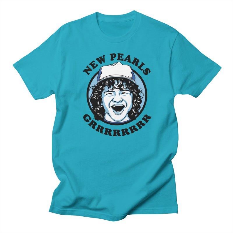 New Pearls Men's Regular T-Shirt by Olipop Art & Design Shop